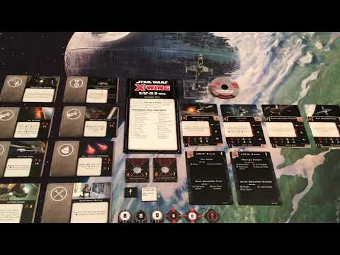 Star Wars X-wing Miniatures Game Part 95 (A/SF-01 B-wing Expansion Pack)