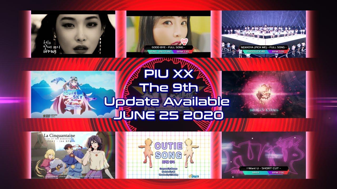 [UPDATE] PIU XX 2.03.0 Final Song List(최종 곡 리스트)