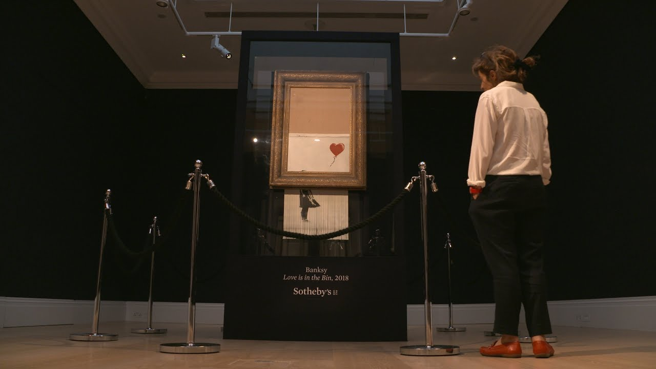 Banksy: Love is in the Bin