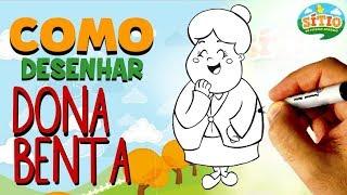 TUTORIAL: Como desenhar a Dona Benta ! How to draw Dona Benta !