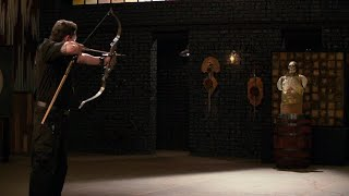 FORGED IN FIRE---STEEL TAKEDOWN BOW.STRENGTH,SHARPNESS AND KILL TEST---HD