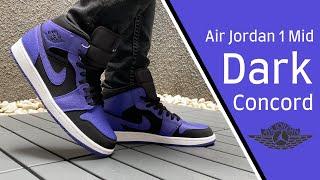 """Air Jordan 1 Mid """"Dark Concord\"""
