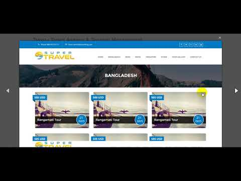 Free Download Travo - Travel Agency & Tourism Management