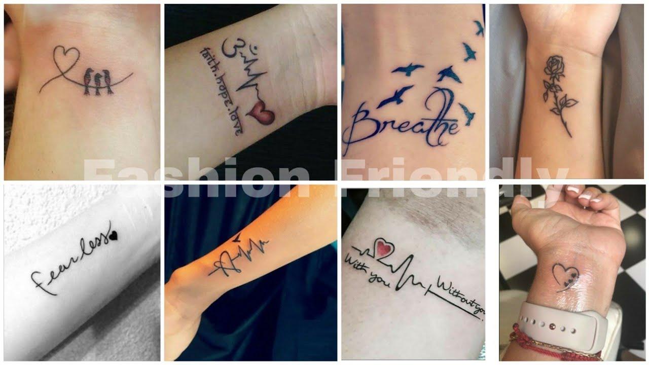 80+ wrist tattoos