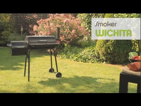 Tepro Toronto Holzkohlegrill Smoken : Tepro smoker wichita youtube