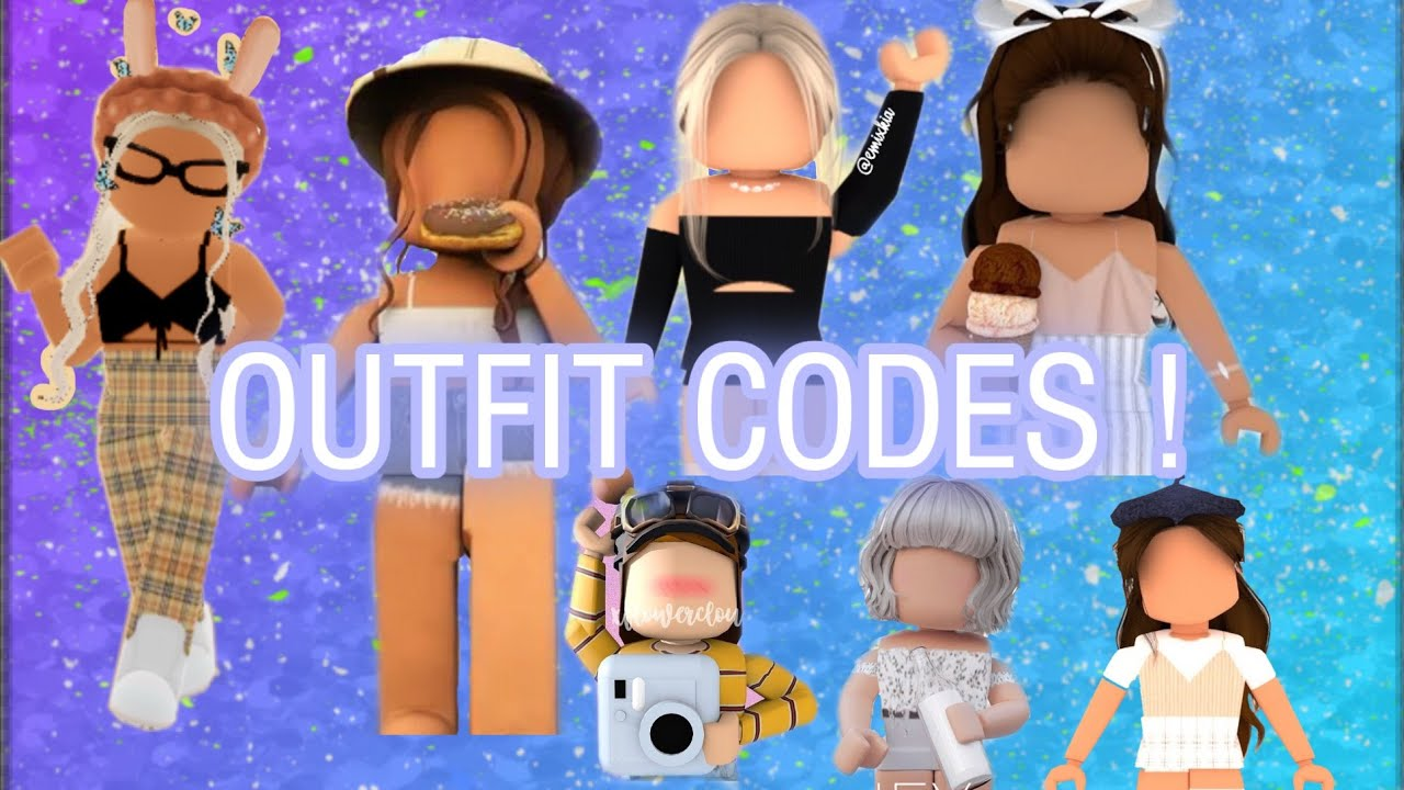 Cute Bloxburg Outfit Codes Ty For 100 Subs Youtube