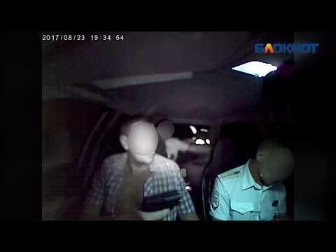 Шокирующее видео: водитель-наркоман прострелил глаз полицейскому в Волжском