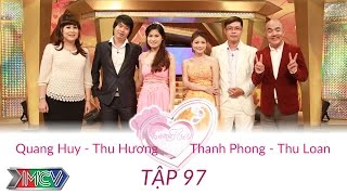 Quang Huy - Thu Hương và Thanh Phong - Thu Loan   VỢ CHỒNG SON   Tập 97   150614
