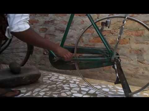 Santhikumar Power Generation with Bicycle