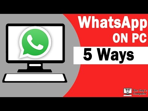 How To Use Whatsapp On Pc Windows 10
