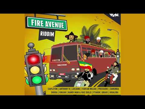 Fire Avenue Riddim ►JUNE 2018► Capleton,Luciano,Anthony B,Fantan Mojah & more (Young Veterans)
