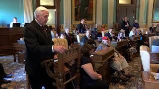 Sen. Horn takes part in 25th annual Michigan Senate Memorial Day Service