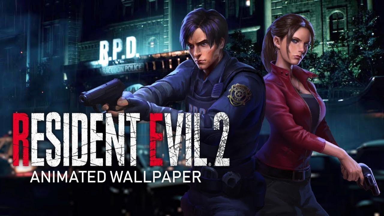 A New Nightmare Resident Evil 2 Animated Wallpaper Youtube