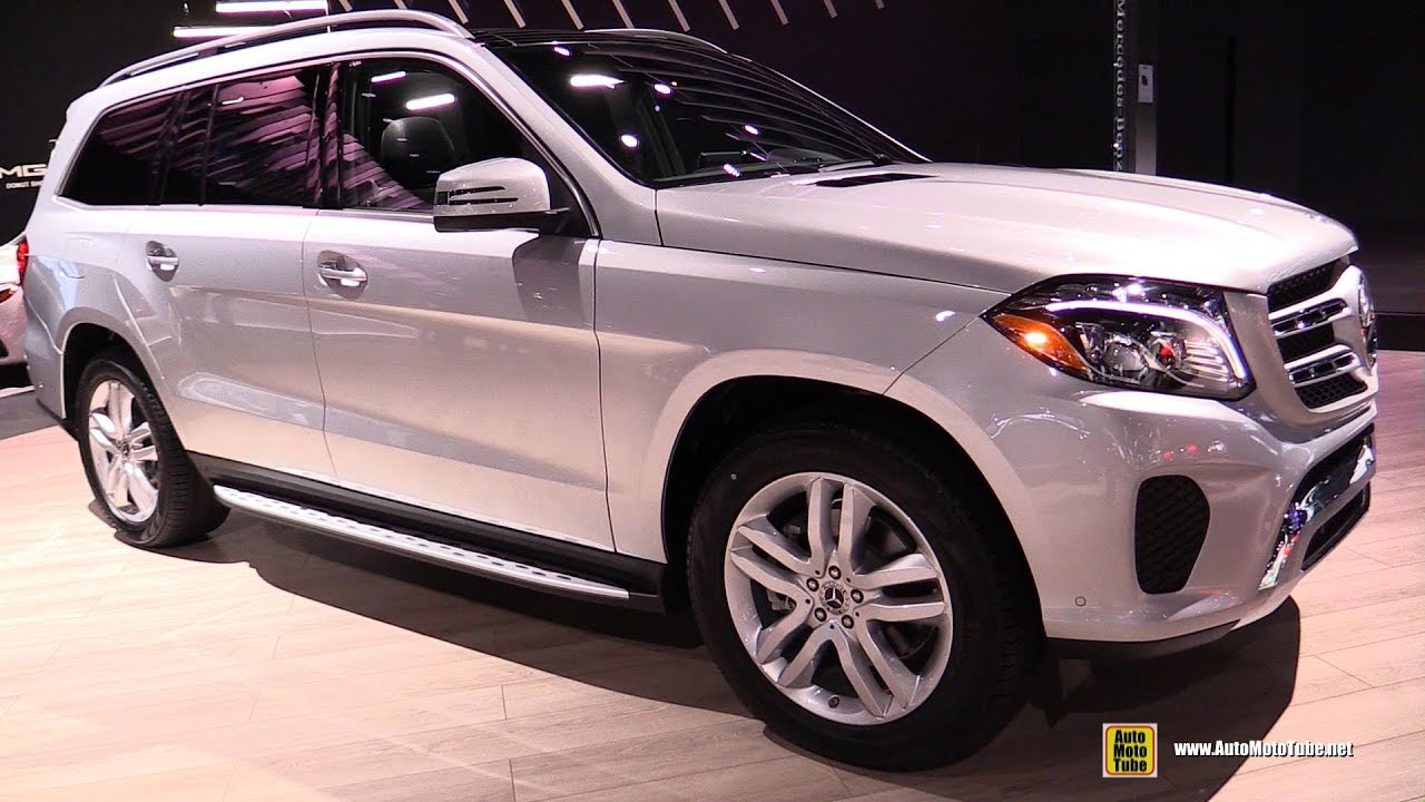 2017 La Auto Show >> 2018 Mercedes GLS450 4Matic SUV - Exterior and Interior Walkaround - 2017 LA Auto Show - YouTube