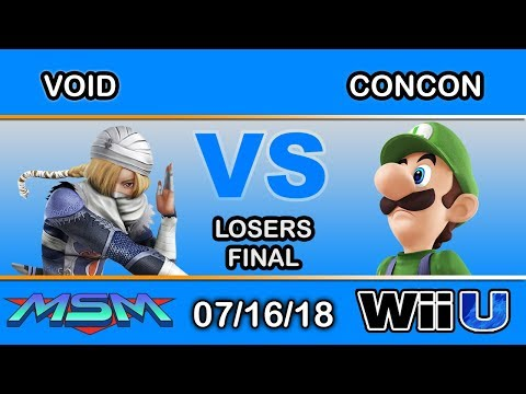 MSM 155 - CLG | VoiD (Shiek) Vs SS | Concon (Luigi) Losers Final - Smash 4