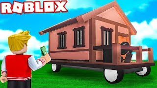 I BOUGHT A HOUSE WITH WHEELS THAT WORKS ON ROBLOX! (ADOPTEZ-MOI)