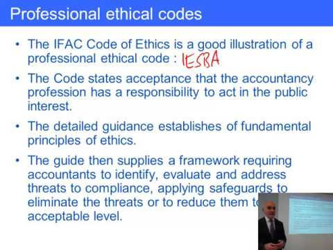 ACCA F1 Accountancy and the accountancy profession