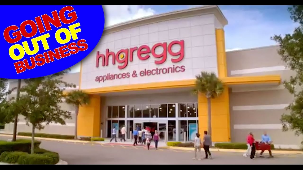 Hhgregg Going Out Of Business Total Liquidation Youtube