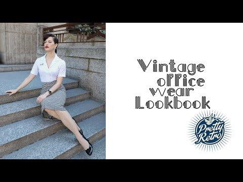 Vintage Office Wear Lookbook (Affordable)⎟VINTAGE TIPS & TRICKS