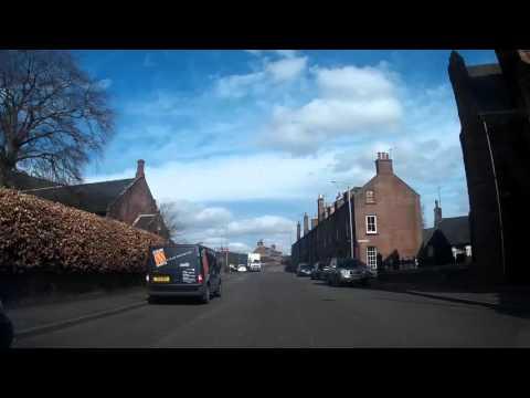 Driving To Kirriemuir Angus Scotland