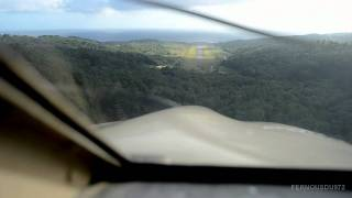 AMAZING Landing at Dominica Melville Hall airport | Piper PA28