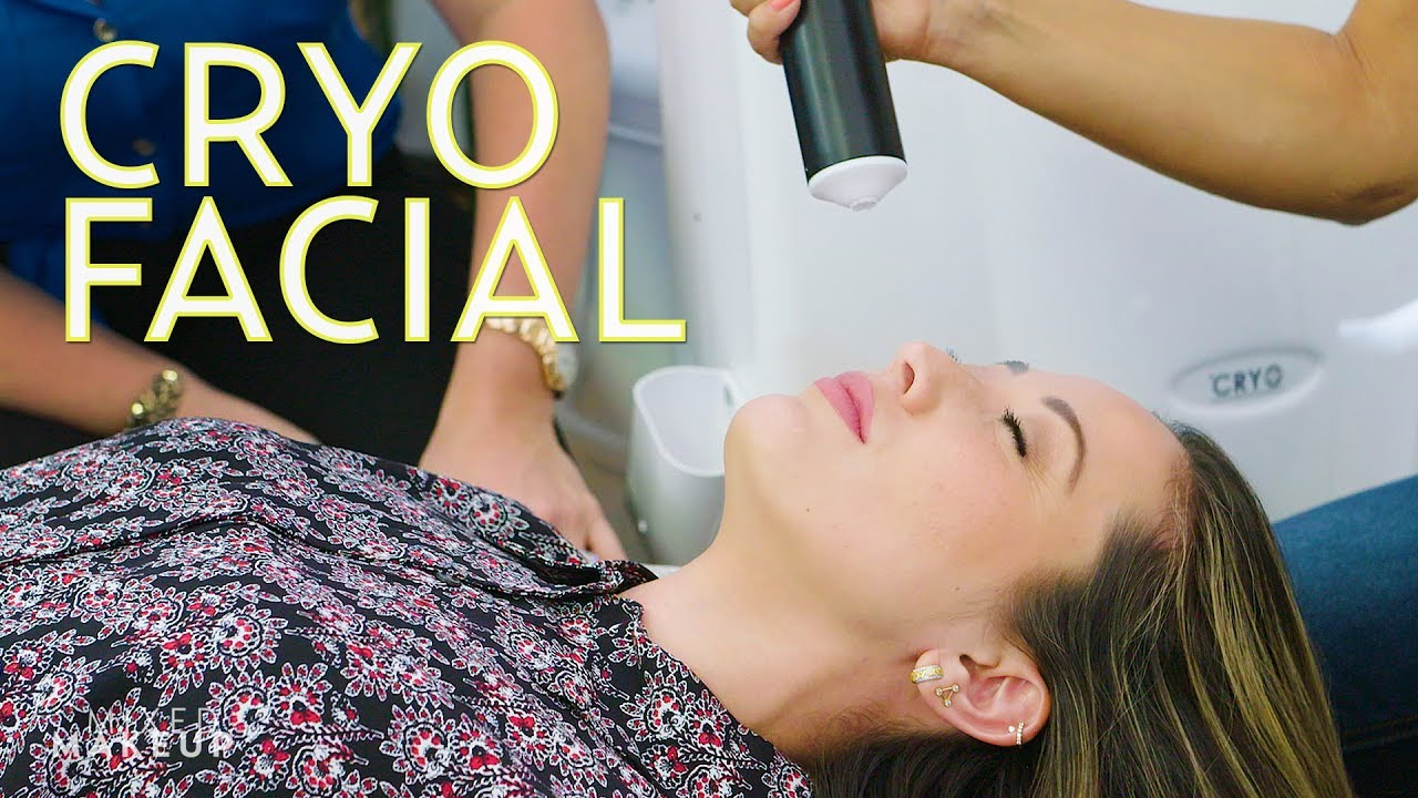 Cryotherapy Facial: We Froze Our Faces!   The SASS with Susan and Sharzad