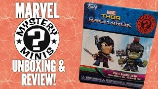 FUNKO THOR RAGNAROK MYSTERY MINIS! - Unboxing and Review!