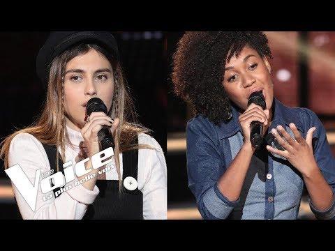Coldplay - Yellow | Yvette vs Liv Del Estal | The Voice France 2018 | Duels
