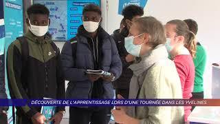 Yvelines | Découverte de l'apprentissage lors d'une tournée dans les Yvelines