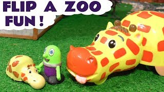 Funny Funlings Flip A Zoo Fun Animal Magic toy story