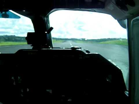 Svg air landing at point salines (Grenada)