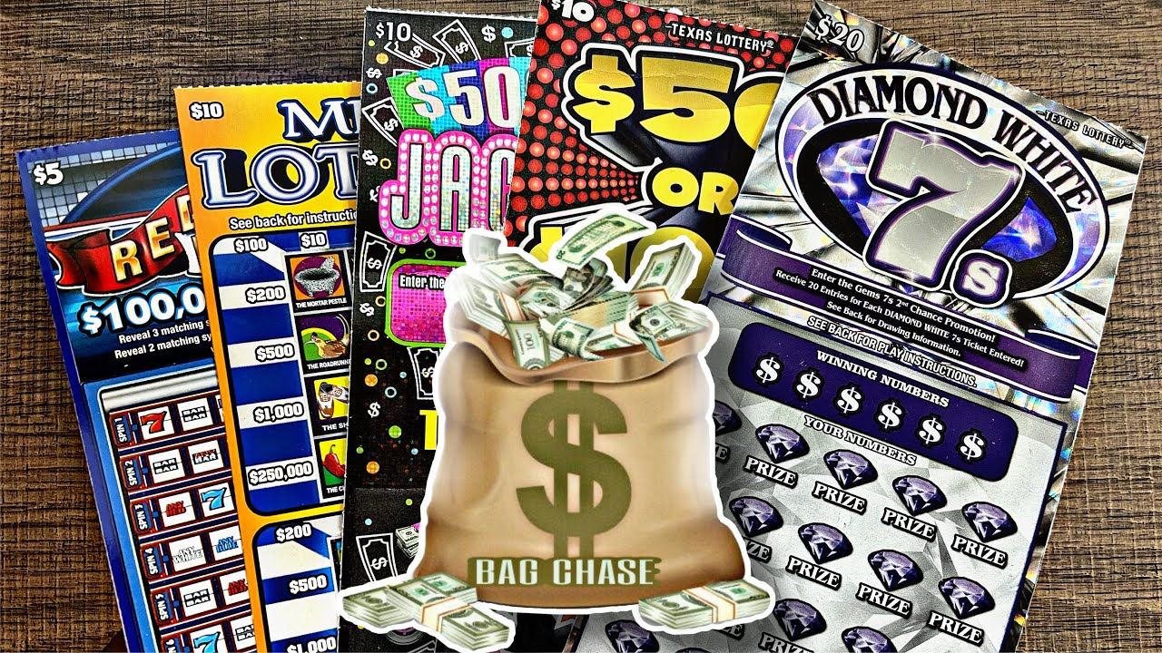 Bag Chase!💰 Mix of Texas Lottery Scratch Off Tickets