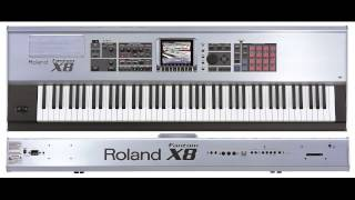 Roland Fantom X8 demo play