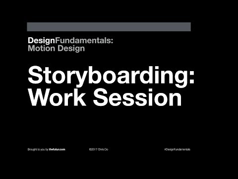 Design Fundamentals: Storyboarding & Sequence Design