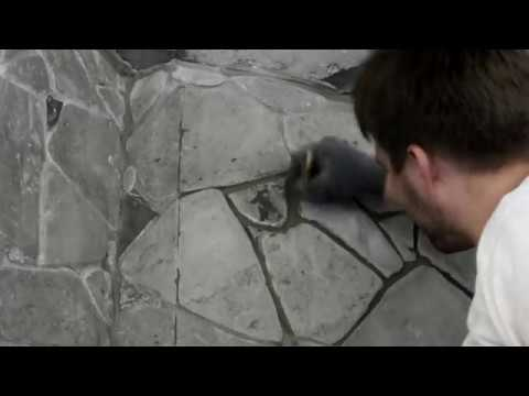 все тонкости облицовки камина диким камнем