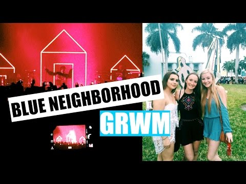 GRWM: Troye Sivan Blue Neighborhood Tour!!!!!!!!!!!! + concert footage!