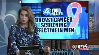 4 Your Health Screening effective in detecting male breast cancer