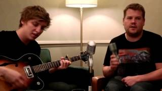 George Ezra: Blame it on me (w/ James Corden) without the interruptions