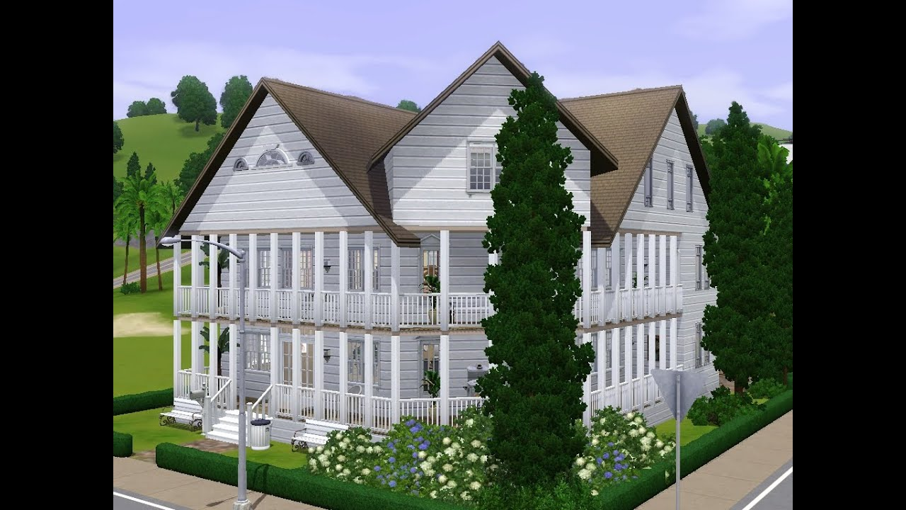 Sims 3 - Haus bauen - Let\'s build - Romantisches Haus am Meer - YouTube