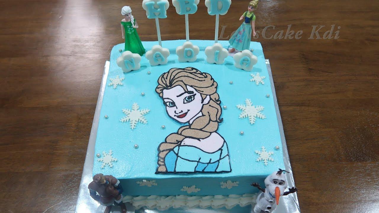 Happy Birthday Cake For Girls Newest Frozen Cake Decorating Toys Birthday Frozen Elsa Cake Tart