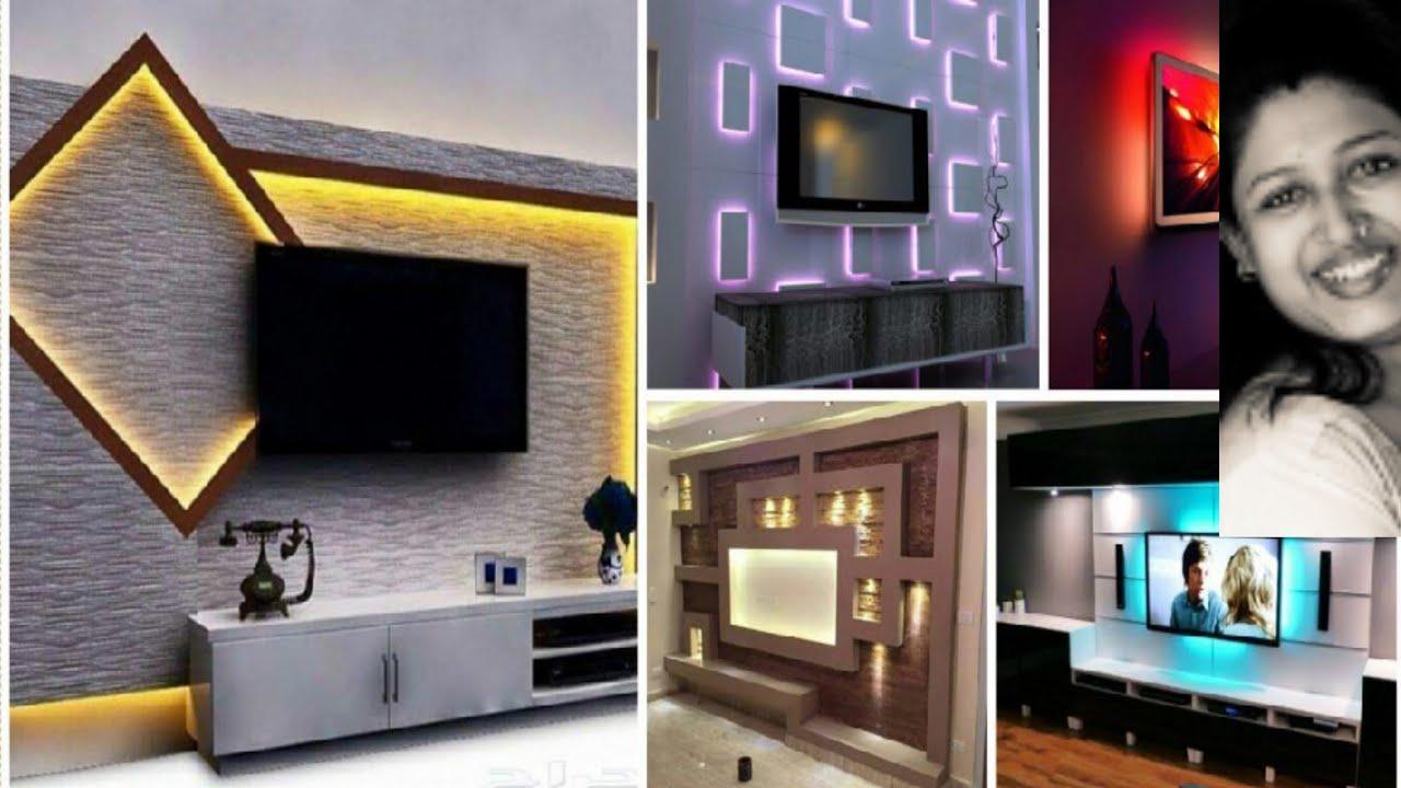 2020 Tv Unit Design Latest Tv Cabinet Design Tv Panel Design 2020 Beautiful Tv Unit Design Ply Youtube