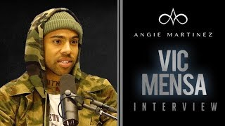 Vic Mensa Talks Online Hate, New EP + Compares Music Industry To The Matrix