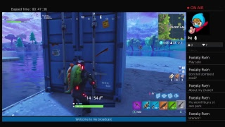 Fortnite (playing with random squads PLUS I UNLOCKED OMEGA!)