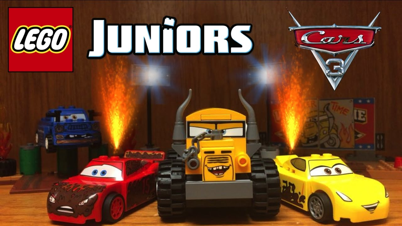 Lego cars 3 thunder hollow crazy 8 race set review 10744 miss fritter youtube - Coloriage cars 3 thunder hollow ...