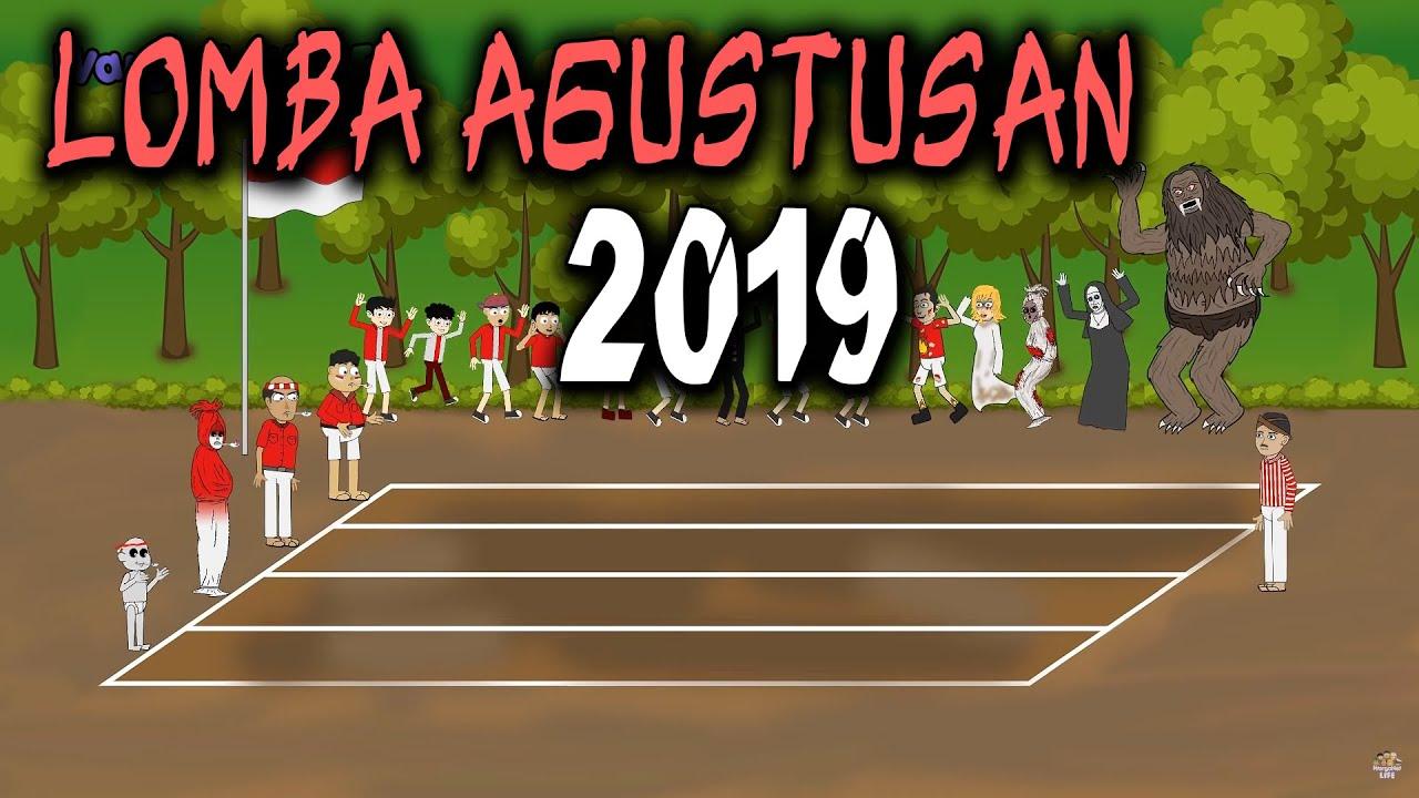 Trending Di Youtube Animasi Manusia Vs Hantu Dari Warganet Life Official Tribun Jogja