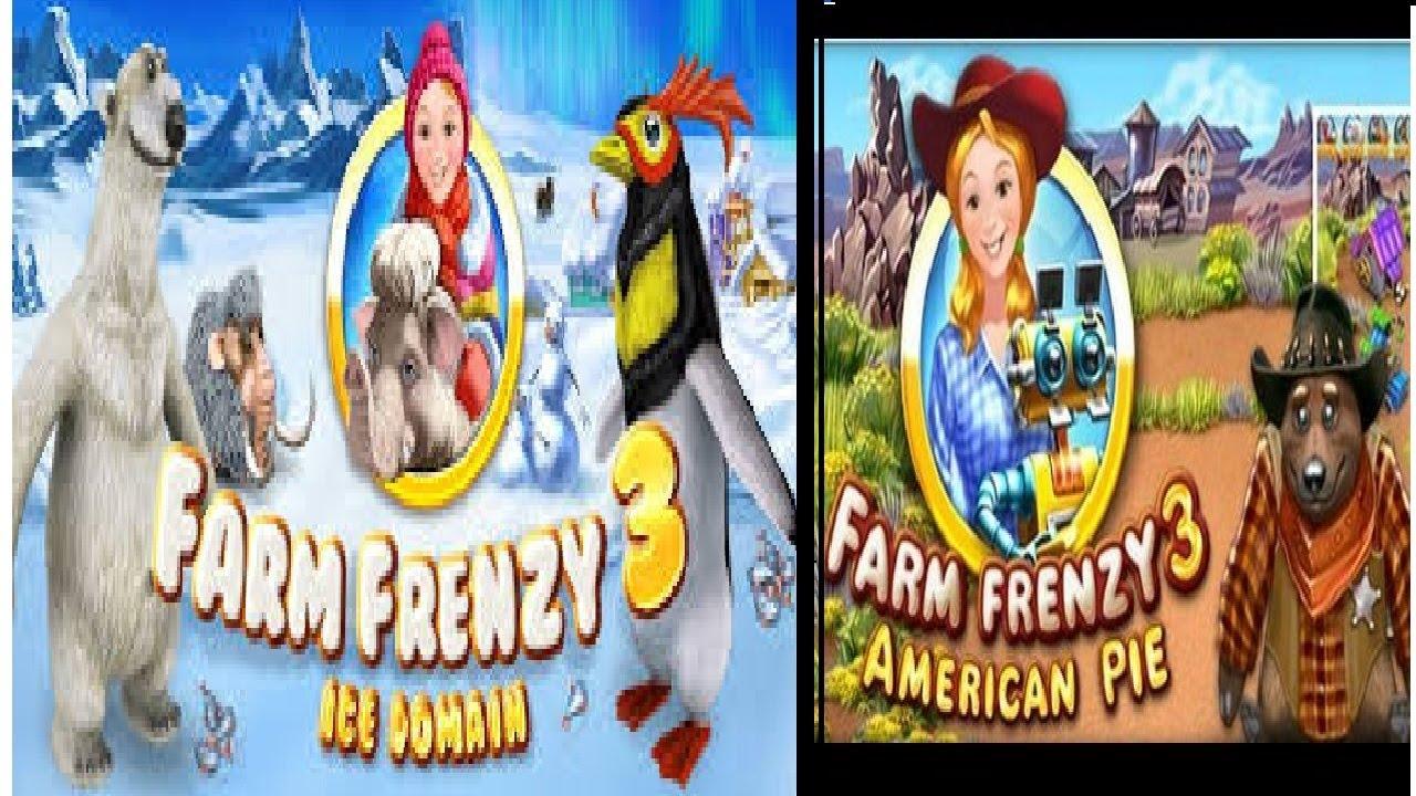 تحميل لعبة farm frenzy 3 ice age