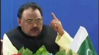 MQM Panjab Convention 2010 Historical Telephonic Address of Mr. Altaf Hussain.flv