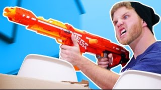 NERF Sniper Challenge! [Ep 2]