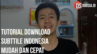 Video Cara Download Subtitle Indonesia Untuk Film atau Video download MP3, 3GP, MP4, WEBM, AVI, FLV Agustus 2018