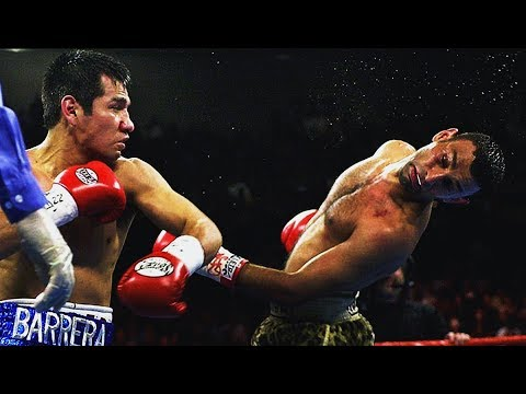 Marco Antonio Barrera vs Prince Naseem Hamed - Highlights (Boxing LESSON)